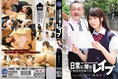 SHKD-535 日常潛伏強暴 不動產出租業者的男性 成宮瑠璃