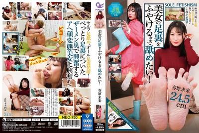 NEO-750 I Wanna Lick The Soles Of A Hot Girl's Feet! Miki Sunohara